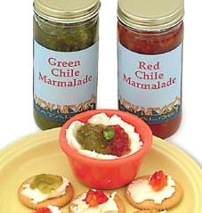 Red and Green Chile Marmalades