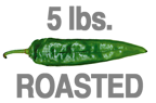 ROASTED EXTRA-HOT GREEN CHILE
