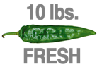 FRESH EXTRA-HOT GREEN CHILE