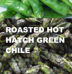 ROASTED HOT HATCH GREEN CHILE