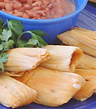 TAMALE DINNER FOR TWO