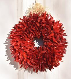 CHILE PEQUIN WREATH