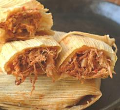 NEW MEXICO RED PORK TAMALES