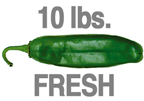 FRESH MILD GREEN CHILE