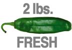2 LB. MILD HATCH GREEN CHILE