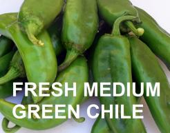 FRESH MEDIUM HATCH GREEN CHILE